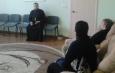 Протоиерей Антоний Шварев провел духовно-просветительскую беседу в уголовно-исполнительной инспекции